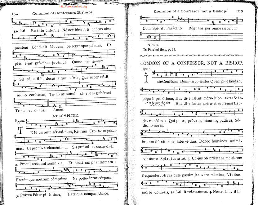1903 Solesmes Manuale (Gregorian Notation)