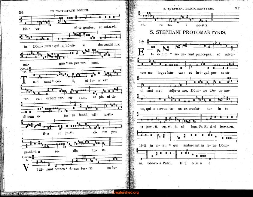 1951 Mechlin Graduale Romanum (incomplete)