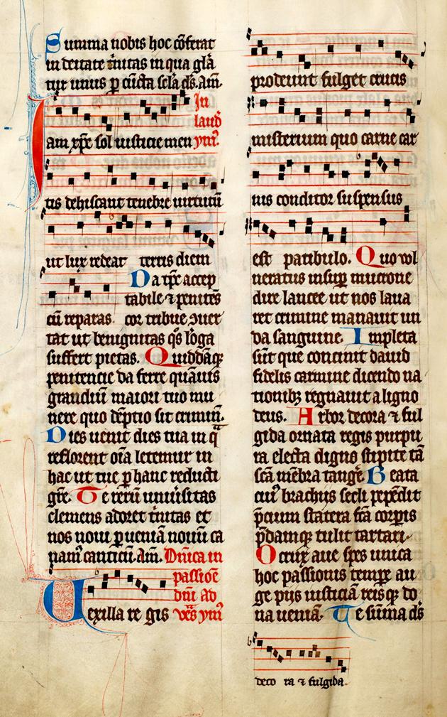 Learn gregorian chant