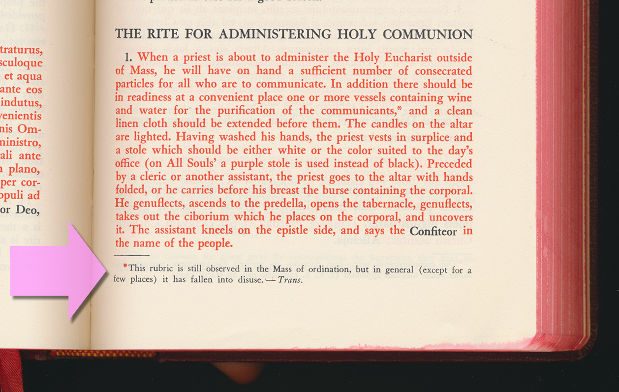 u201cconfiteor u201d before communion  u2022 should it be done