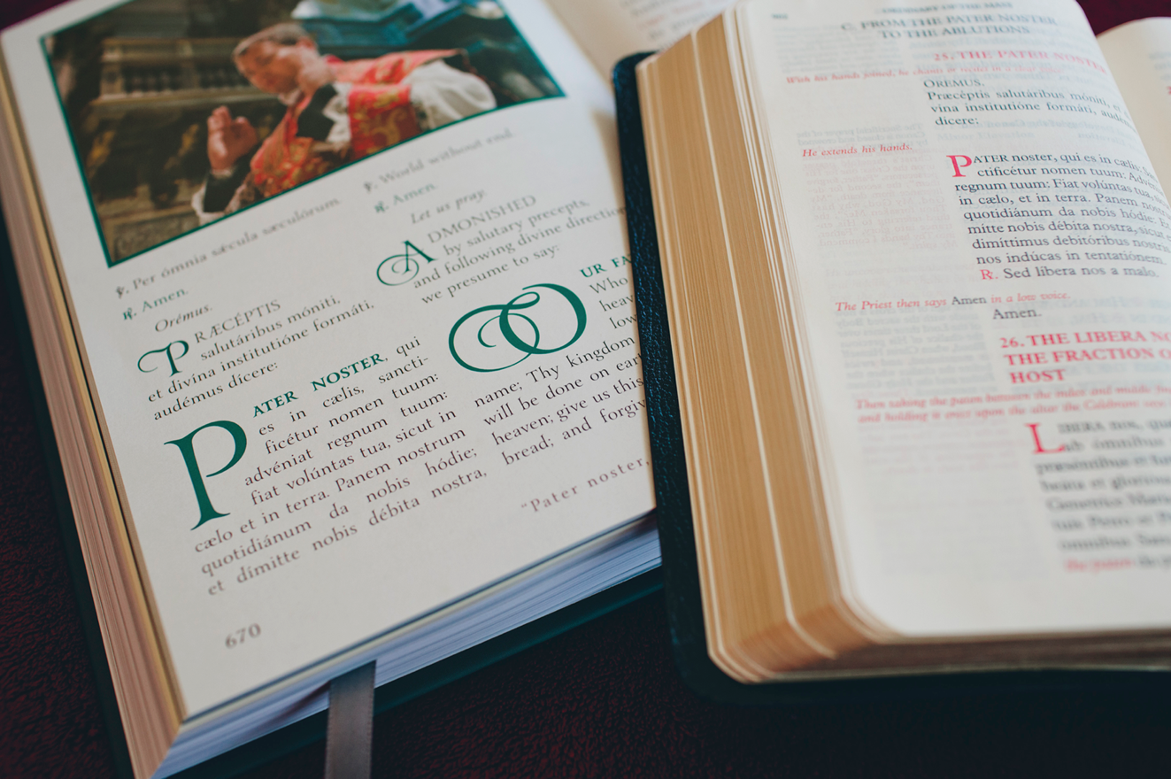 RORATE CÆLI: Exclusive Photos of Campion Missal, 2nd Edition on