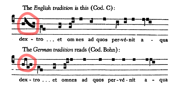 Lesson 5: How To Read Gregorian Chant