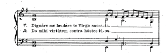 1907 Vespers of B.V.M. Accompaniment