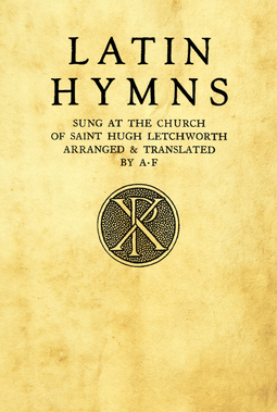199 Adrian Fortescue Hymns 1913