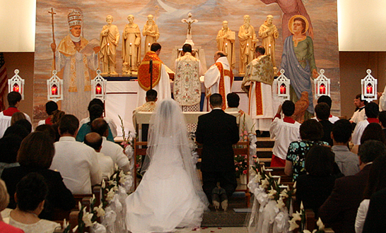 350 Tridentine Wedding