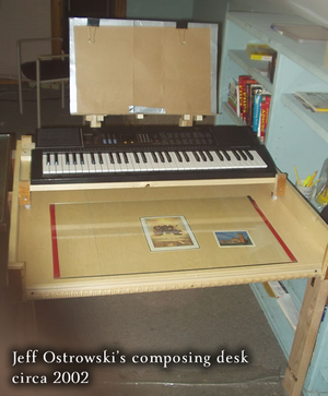 411 custom composing desk
