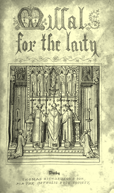 4406 Cover MISSAL for the LAITY