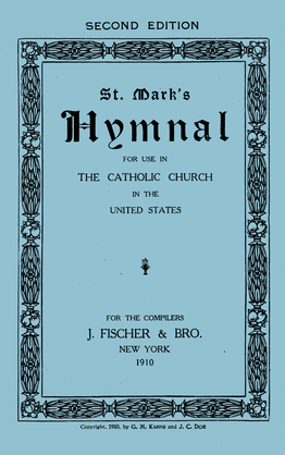 500 Saint Mark's Hymnal 1911