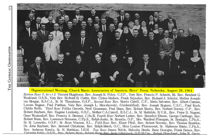 547 Boys Town 1964 CMAA Meeting
