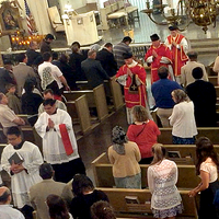 721 Solemn Mass Los Angeles With Fr. John Berg