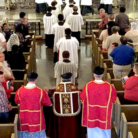 721 B Solemn Mass Los Angeles With Fr. John Berg