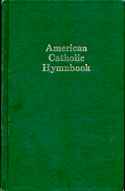 746 American Catholic Hymnbook COVER