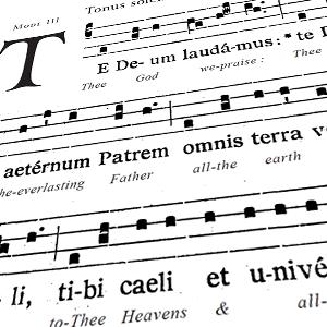 """Te Deum"""" • Printable 4-Page Sheet"""