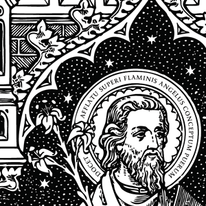Catholic Line Art Black And White Installment 44