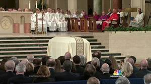 LMT Scalia's funeral
