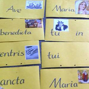Ave Maria cards