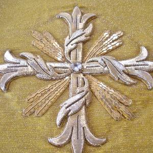 Goldwork cross